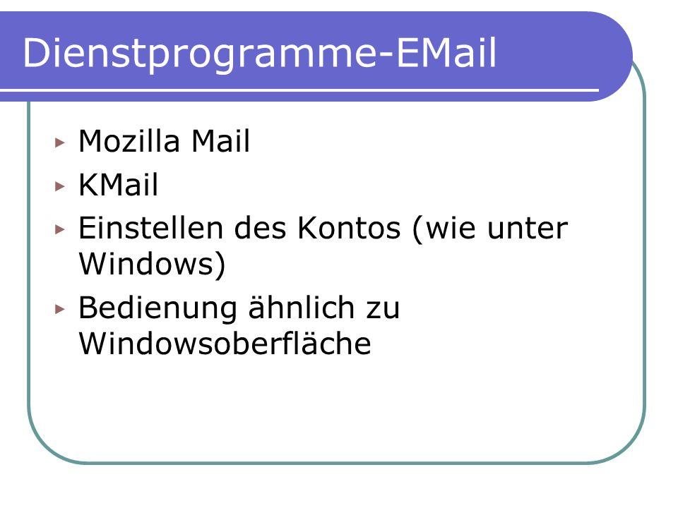 Dienstprogramme-EMail