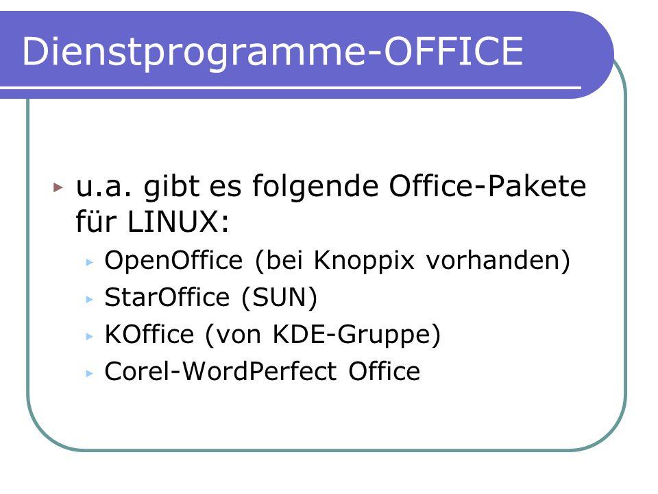 Dienstprogramme-OFFICE
