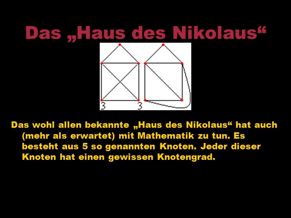 "Das ""Haus des Nikolaus"