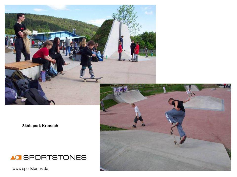 Skatepark Kronach www.sportstones.de