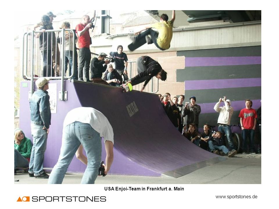 USA Enjoi-Team in Frankfurt a. Main