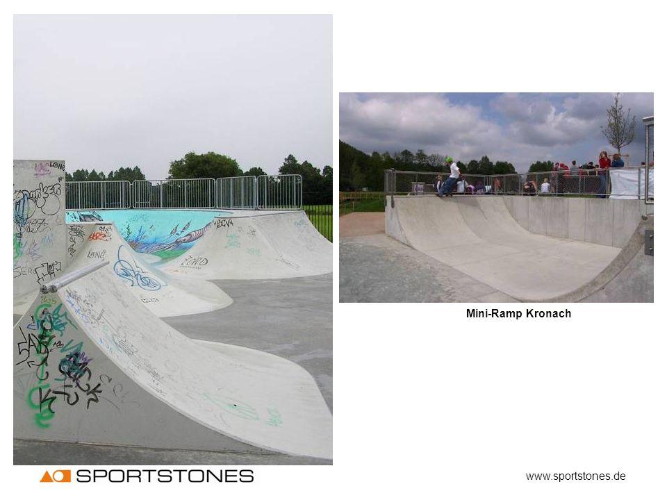Mini-Ramp Kronach www.sportstones.de