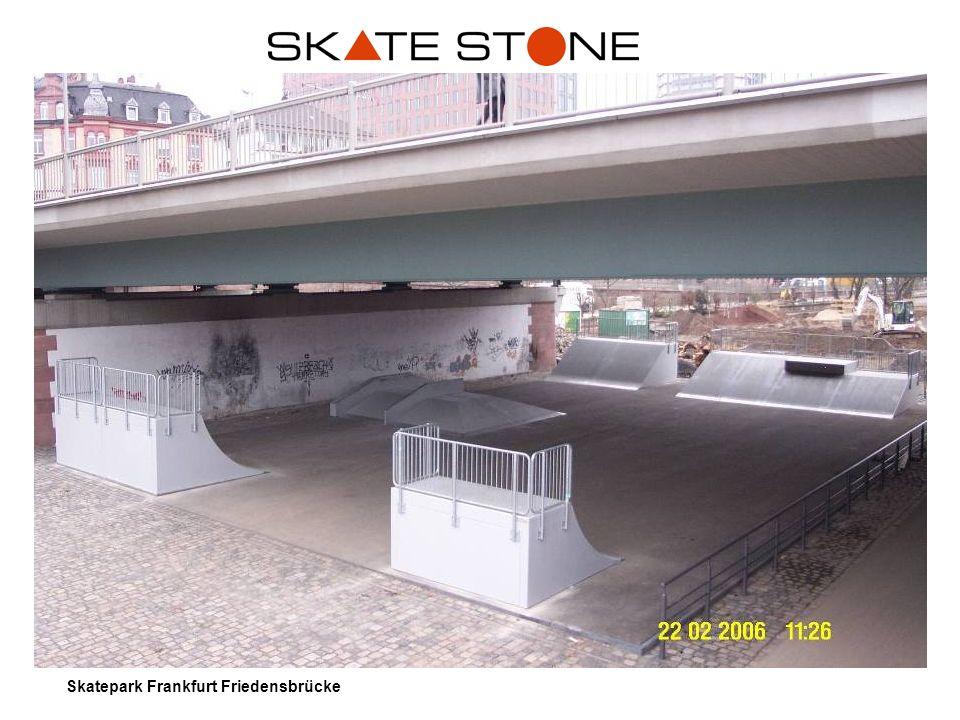 Skatepark Frankfurt Friedensbrücke
