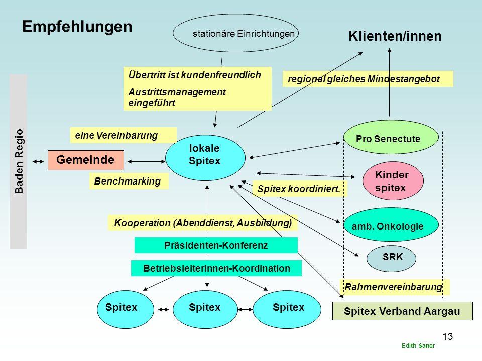 Baden Regio / Regionale Koordination Spitex