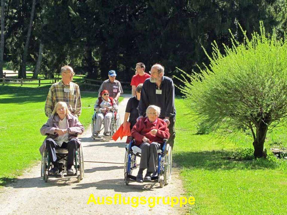 Ausflugsgruppe