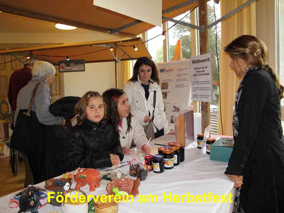 Förderverein am Herbstfest