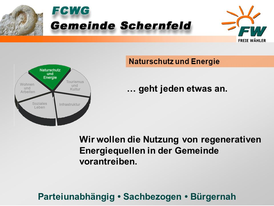 Naturschutz und Energie
