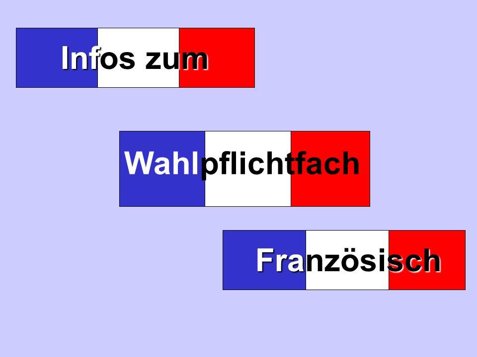 Infos zum Wahlpflichtfach Französisch