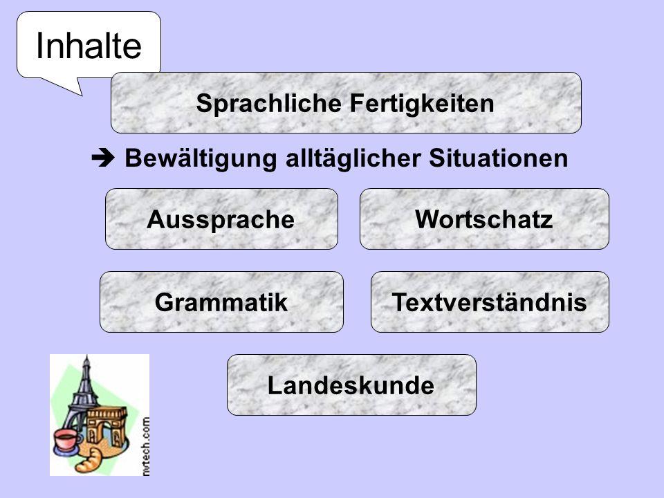 Sprachliche Fertigkeiten