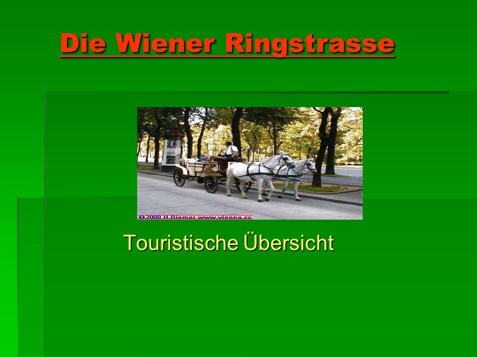 Die Wiener Ringstrasse