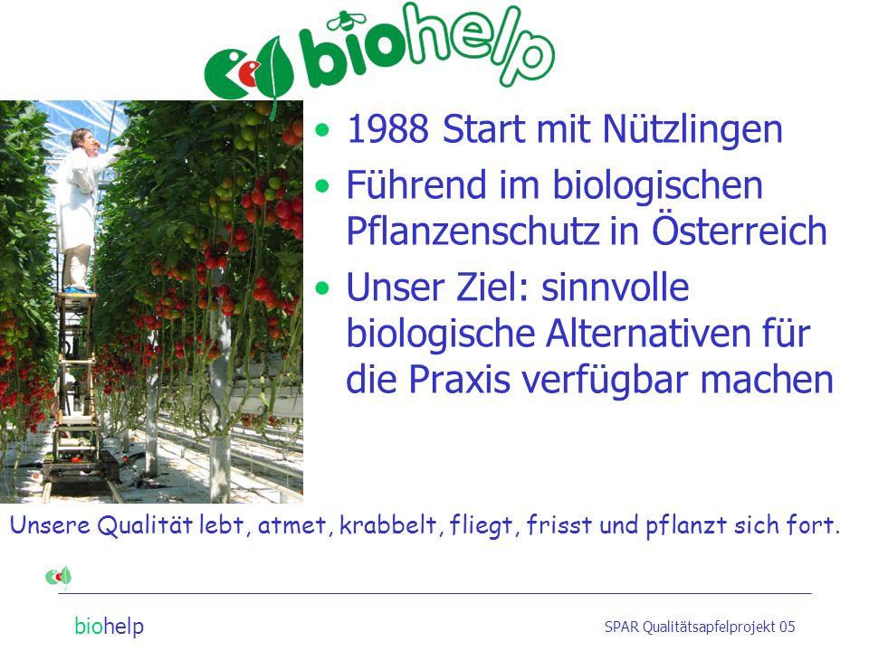 Führend im biologischen Pflanzenschutz in Österreich
