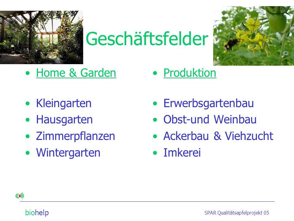 Geschäftsfelder Home & Garden Kleingarten Hausgarten Zimmerpflanzen