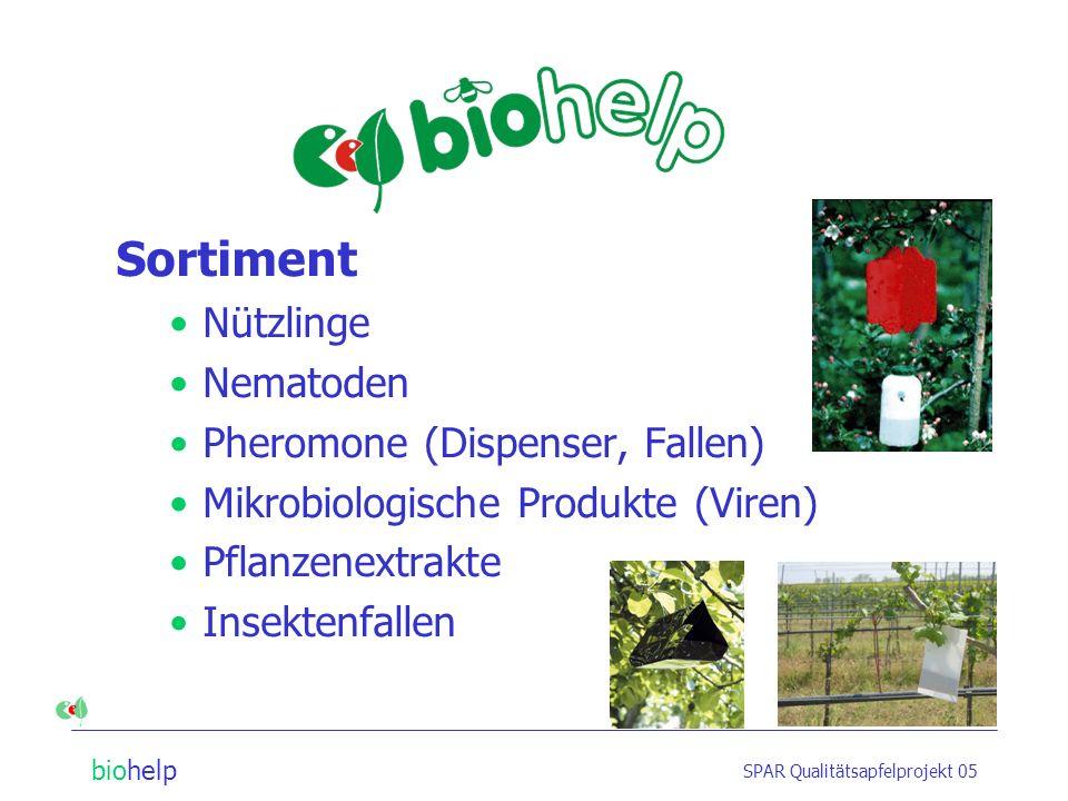 Sortiment Nützlinge Nematoden Pheromone (Dispenser, Fallen)