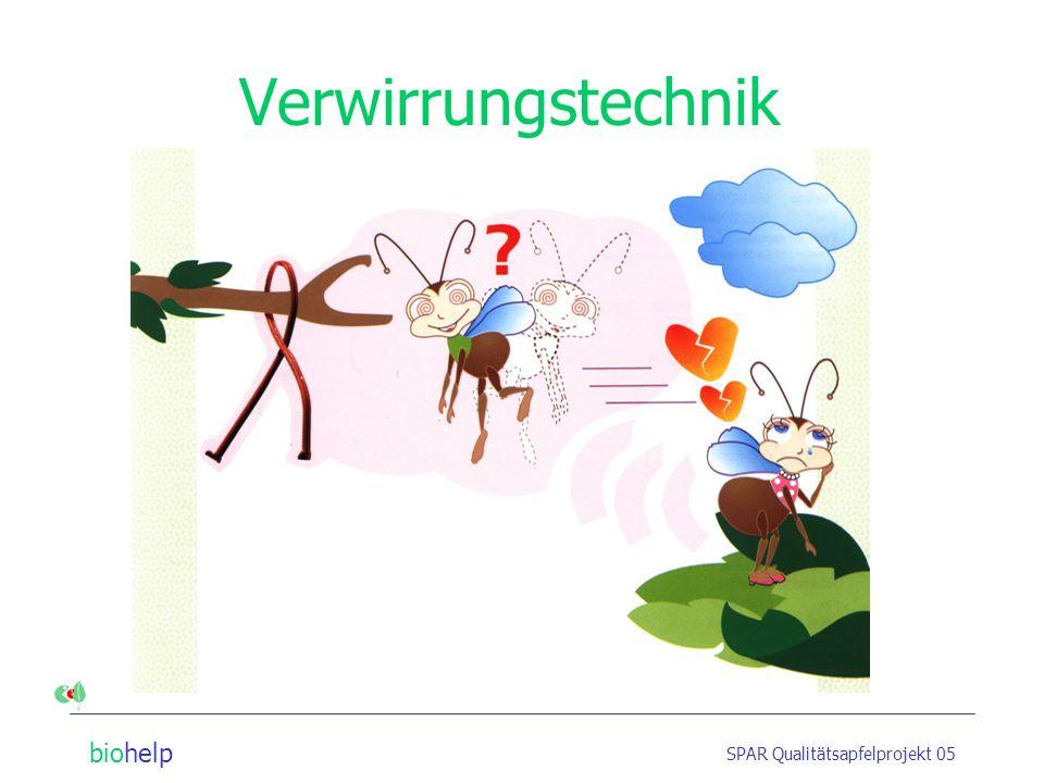 Verwirrungstechnik SPAR Qualitätsapfelprojekt 05