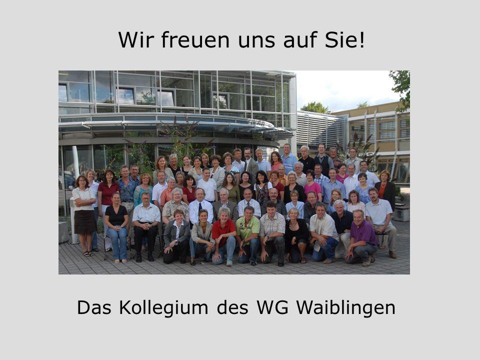 Das Kollegium des WG Waiblingen