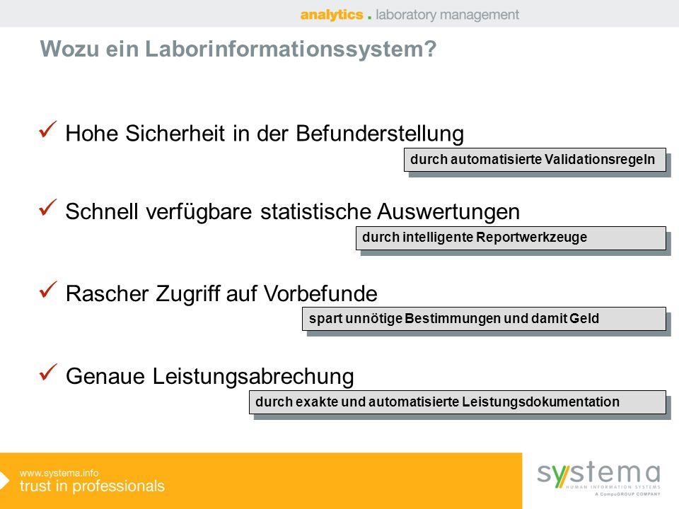 Wozu ein Laborinformationssystem