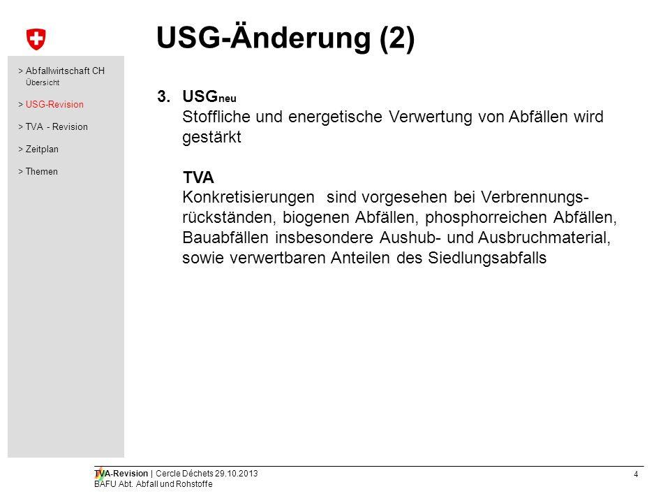 USG-Änderung (2) USGneu