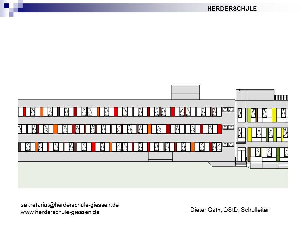 sekretariat@herderschule-giessen.de www.herderschule-giessen.de Dieter Gath, OStD, Schulleiter