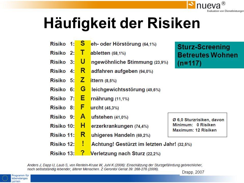 Häufigkeit der Risiken