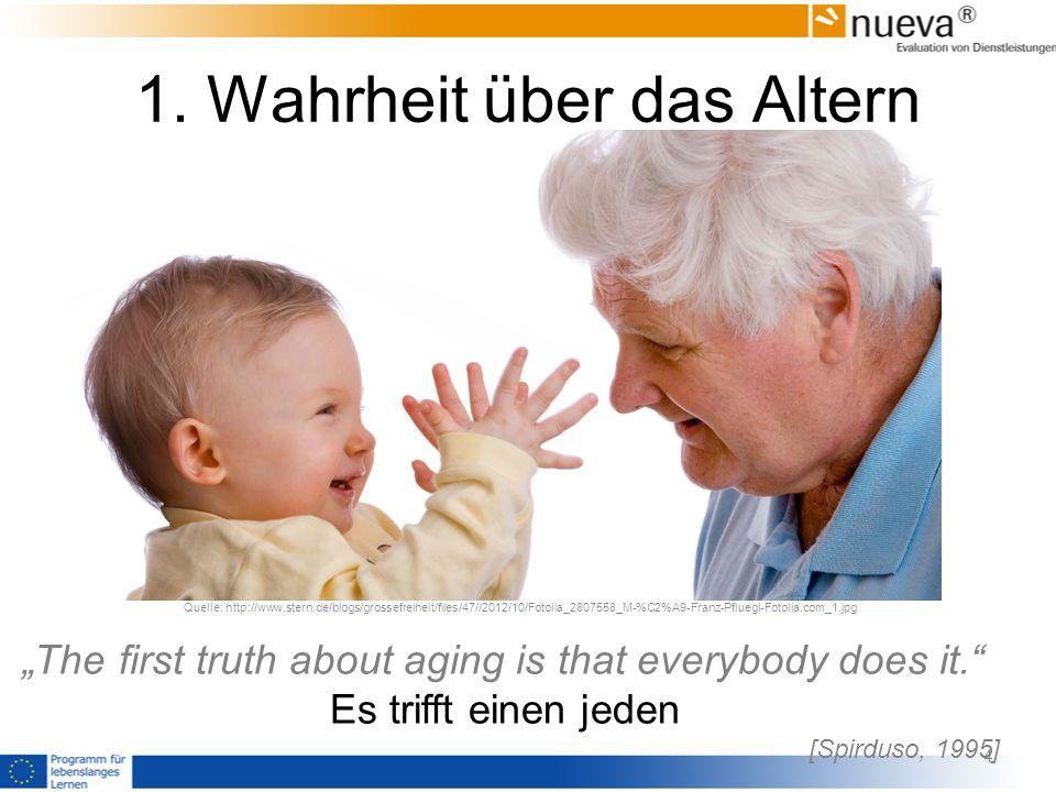 1. Wahrheit über das Altern