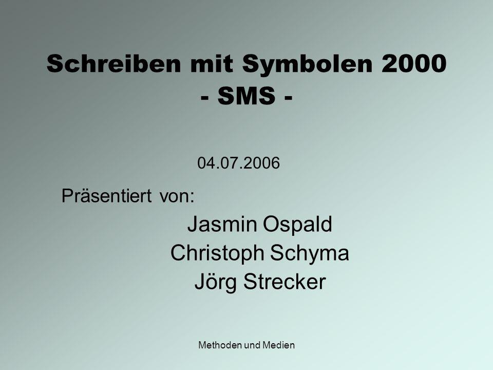 Schreiben mit Symbolen 2000 - SMS -