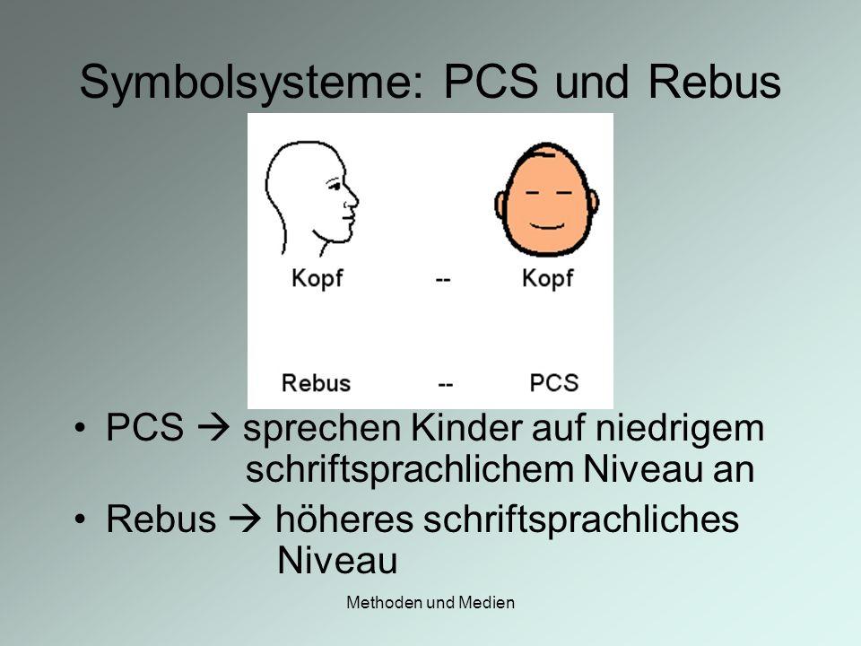 Symbolsysteme: PCS und Rebus
