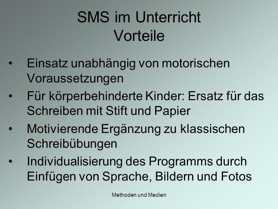 SMS im Unterricht Vorteile