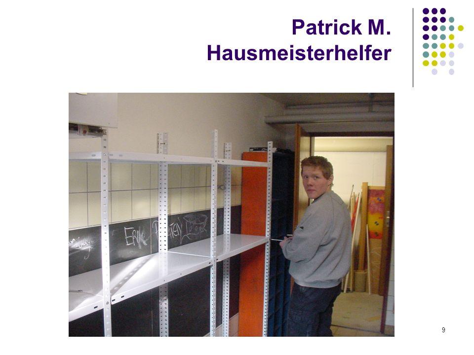 Patrick M. Hausmeisterhelfer