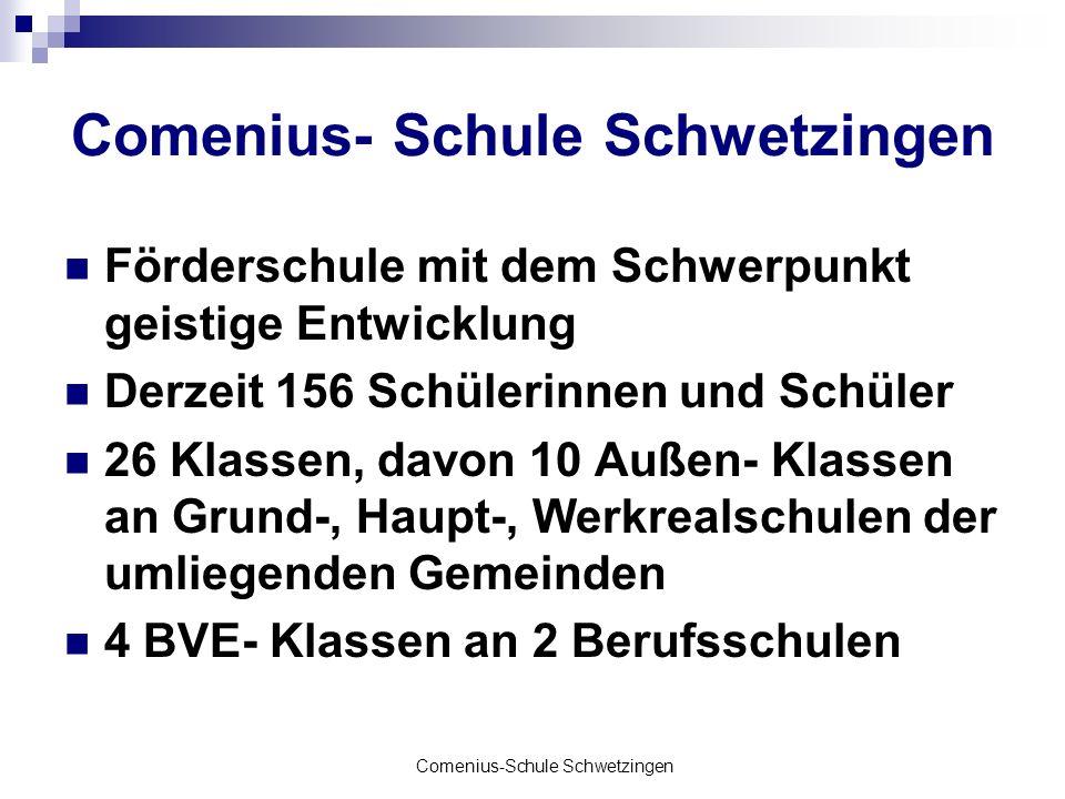Comenius- Schule Schwetzingen