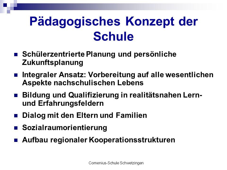 Pädagogisches Konzept der Schule