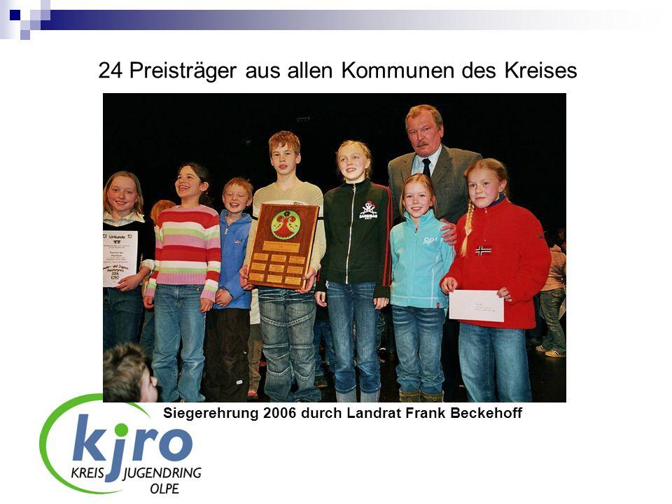 24 Preisträger aus allen Kommunen des Kreises