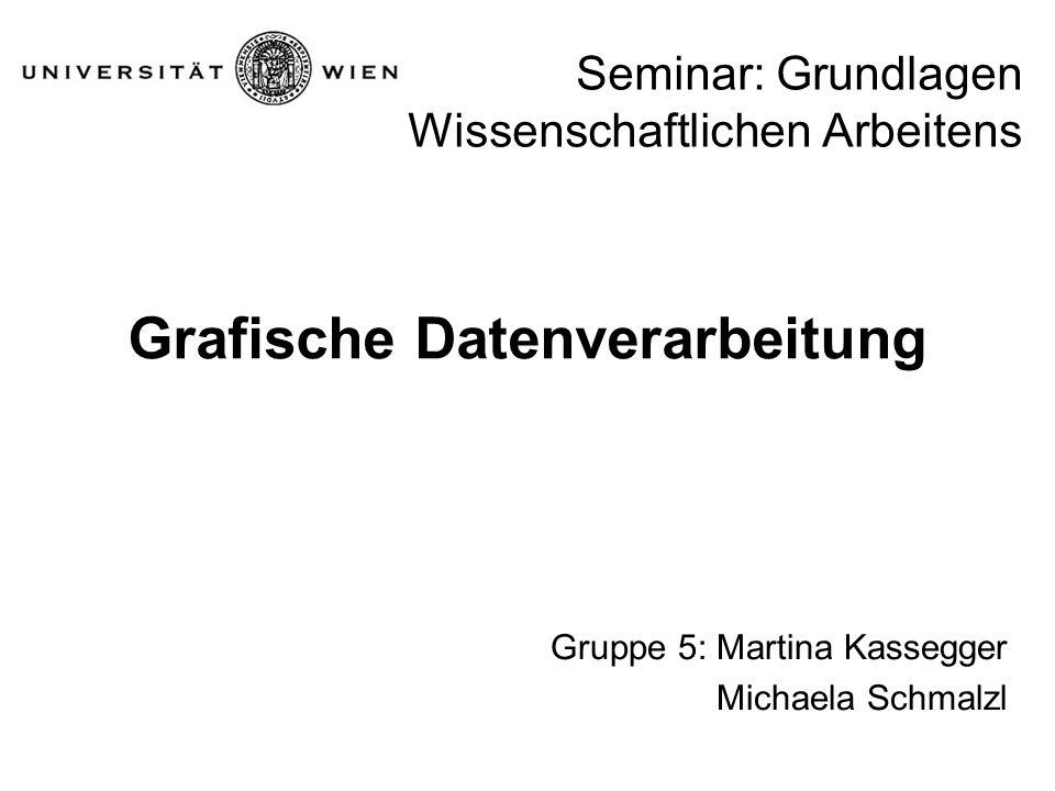 Seminar: Grundlagen Wissenschaftlichen Arbeitens