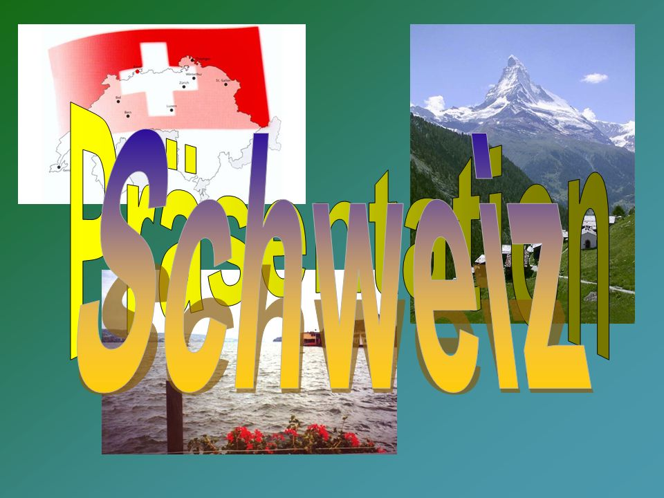Präsentation Schweiz
