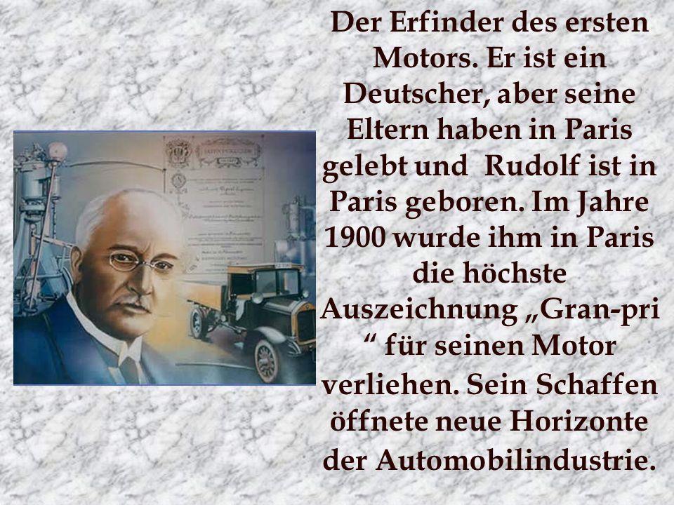 Der Erfinder des ersten Motors