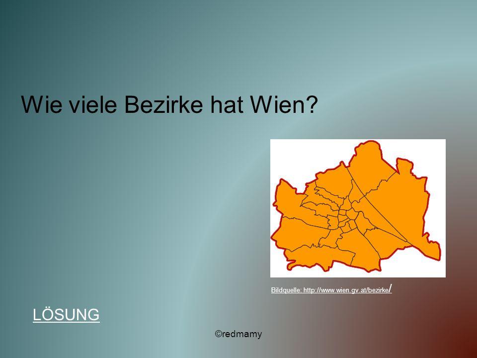 Wie viele Bezirke hat Wien