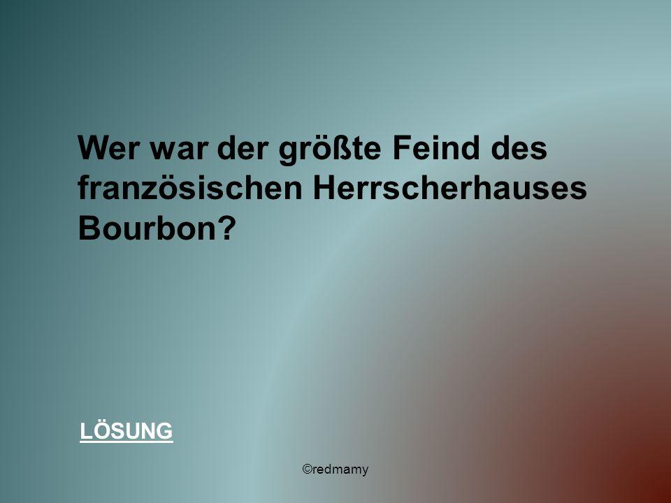 Wer war der größte Feind des französischen Herrscherhauses Bourbon