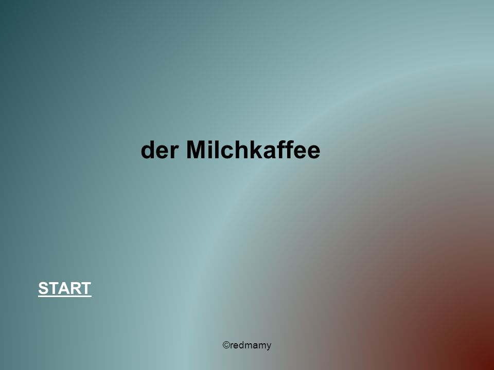 der Milchkaffee START ©redmamy