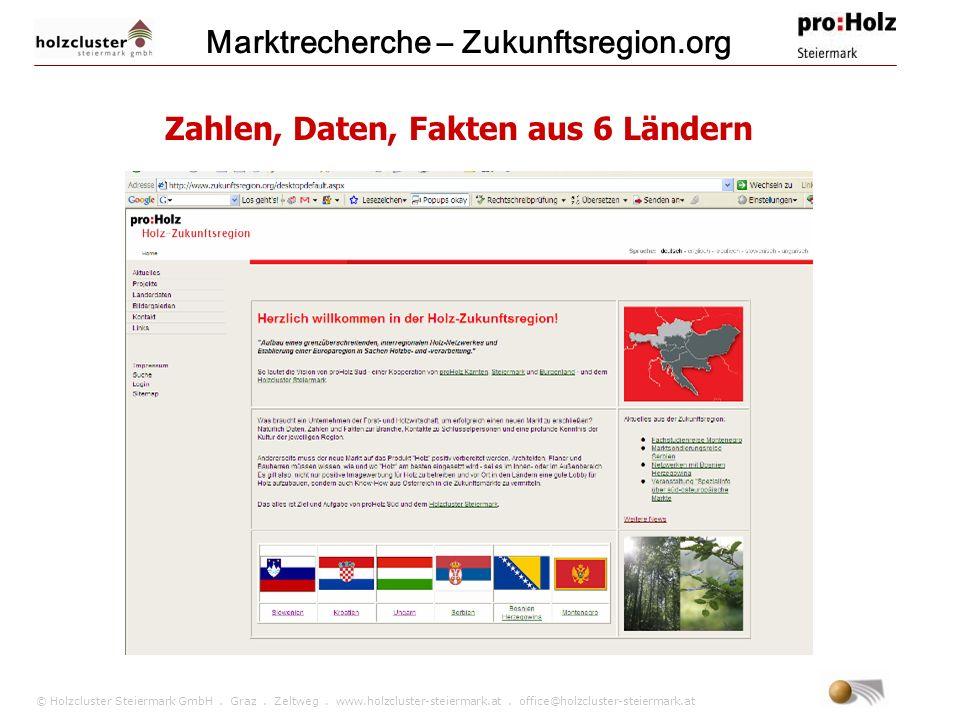 Marktrecherche – Zukunftsregion.org