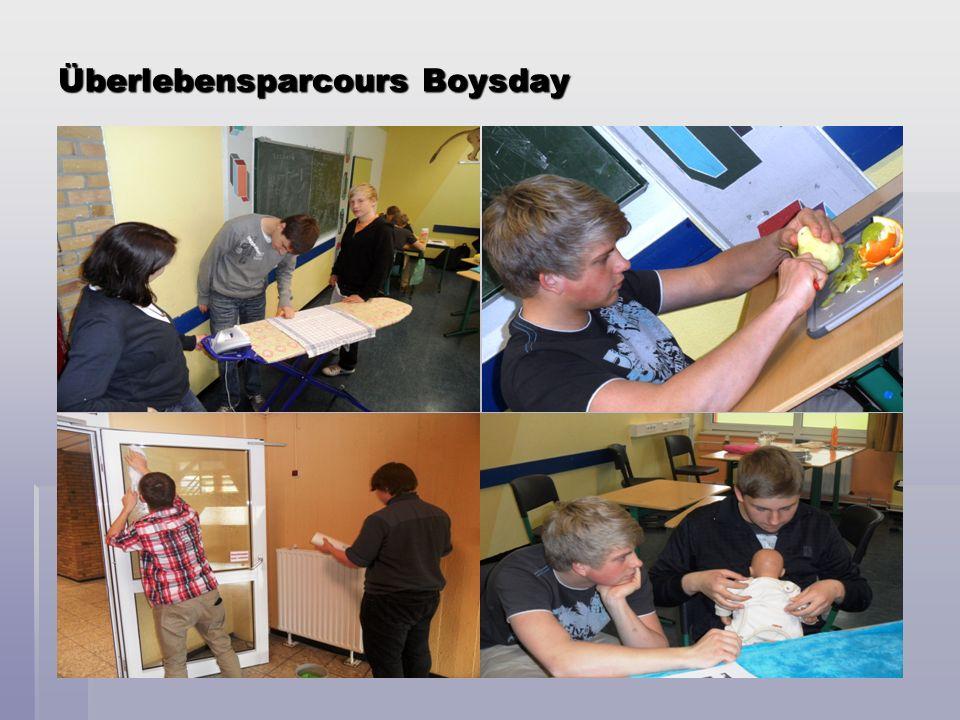 Überlebensparcours Boysday
