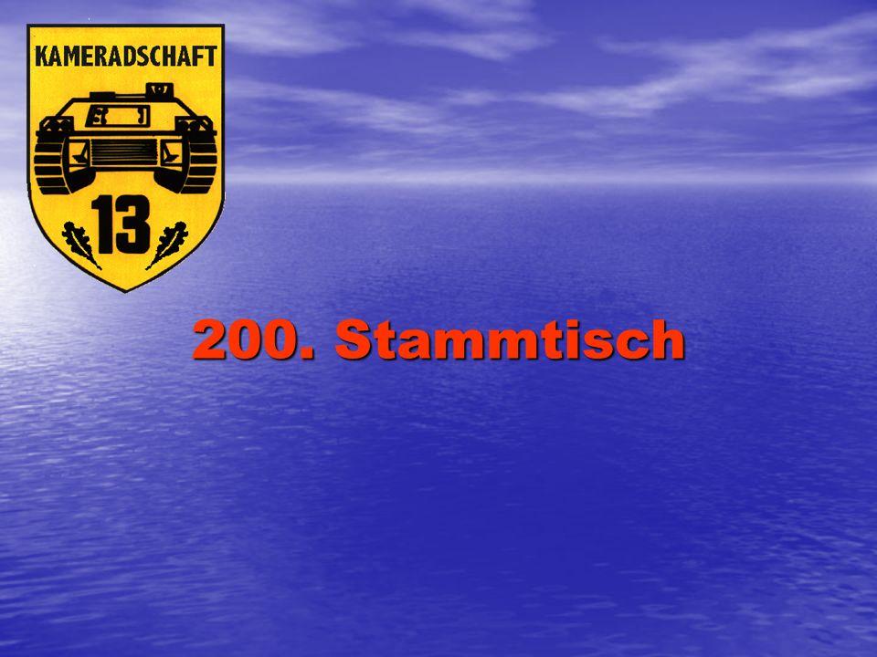200. Stammtisch