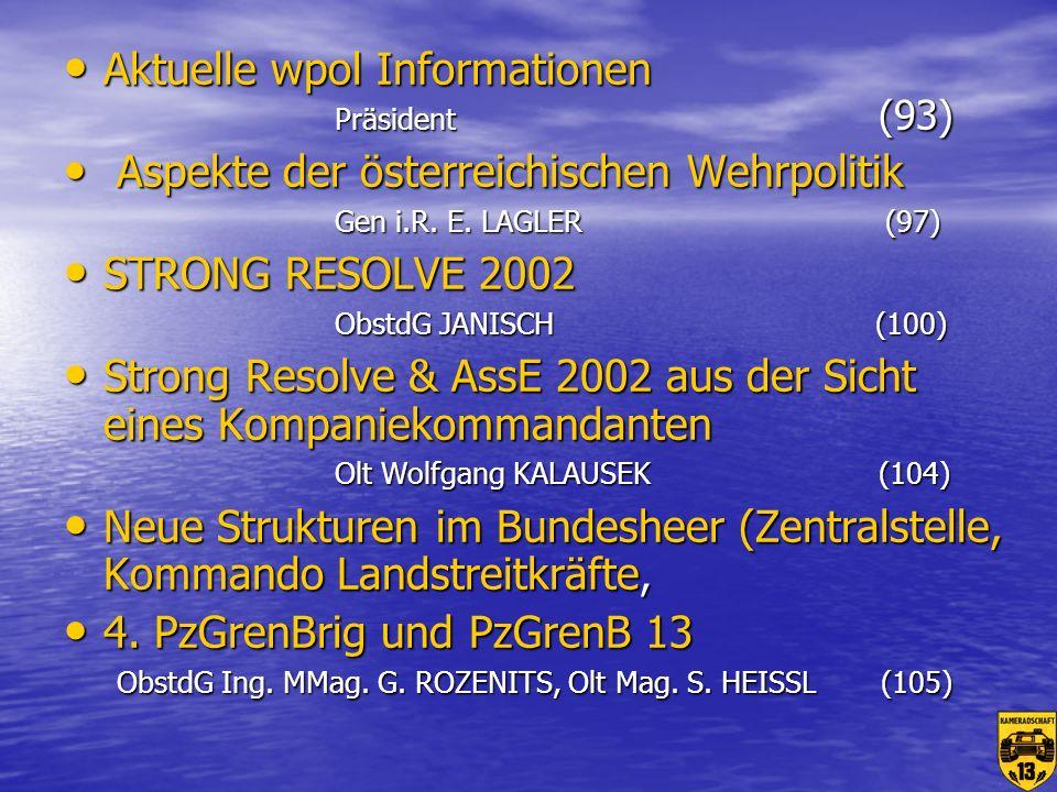 Aktuelle wpol Informationen Präsident (93)