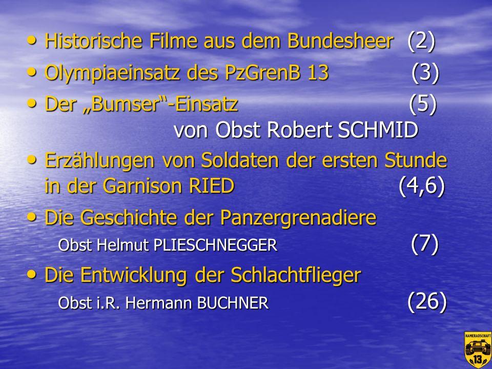 Historische Filme aus dem Bundesheer (2)