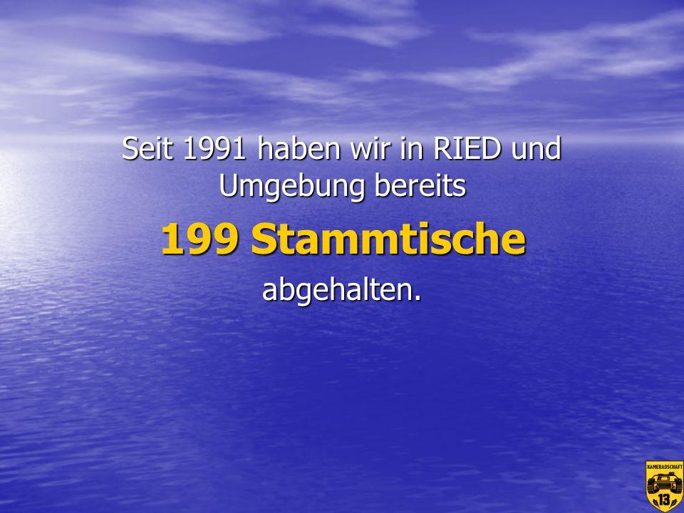 Seit 1991 haben wir in RIED und Umgebung bereits