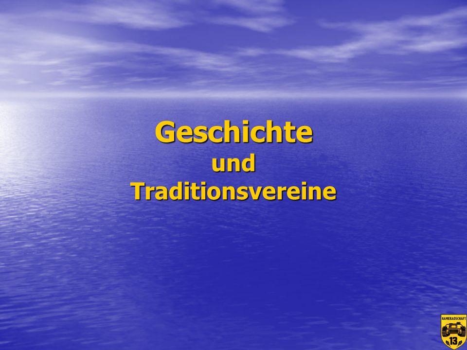 Geschichte und Traditionsvereine