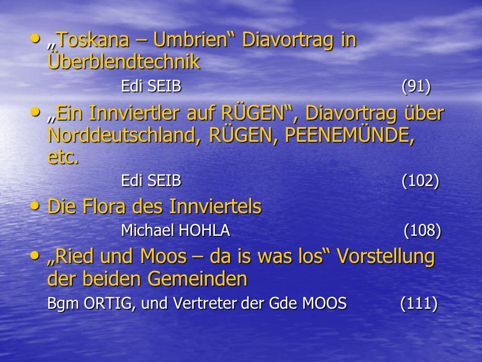 """Toskana – Umbrien Diavortrag in Überblendtechnik Edi SEIB (91)"