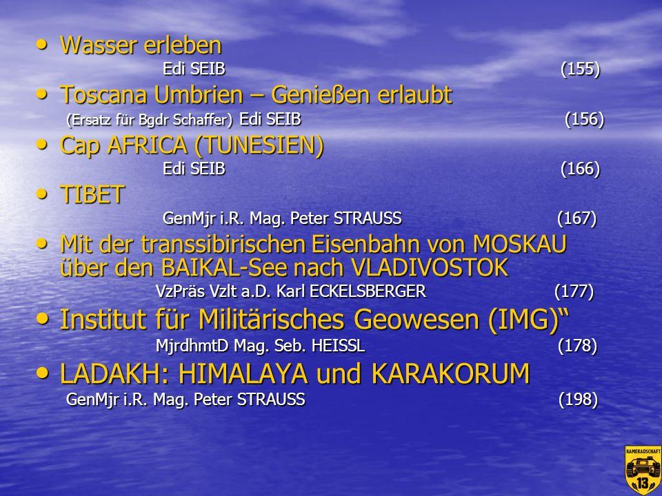 LADAKH: HIMALAYA und KARAKORUM GenMjr i.R. Mag. Peter STRAUSS (198)