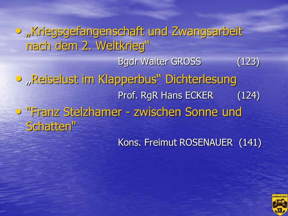 """Reiselust im Klapperbus Dichterlesung Prof. RgR Hans ECKER (124)"