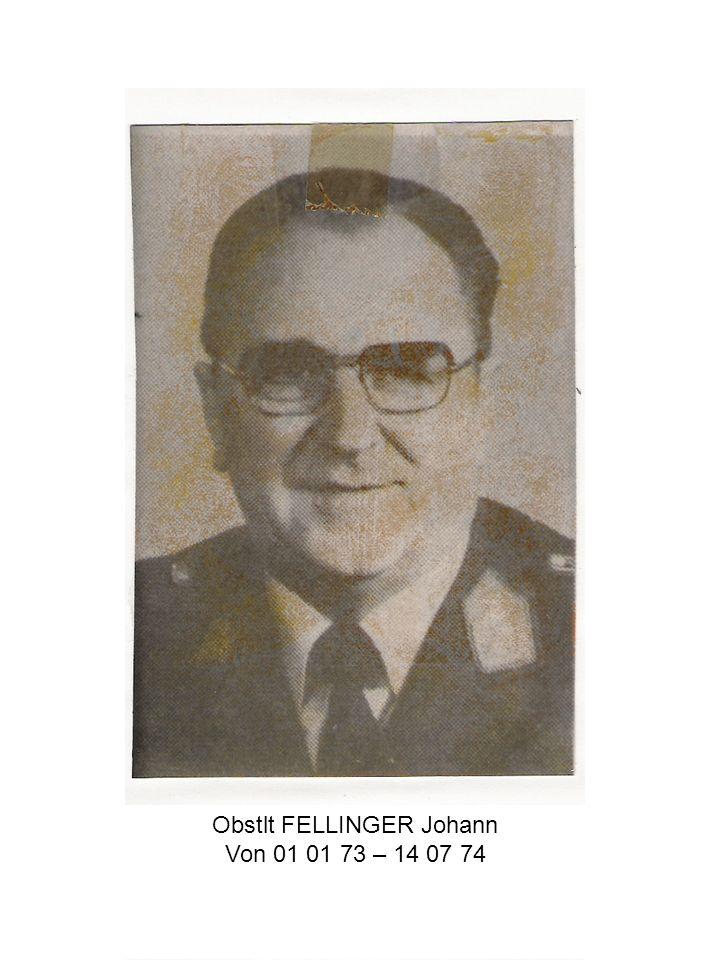 Obstlt FELLINGER Johann