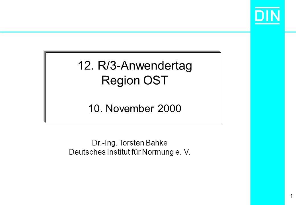 Deutsches Institut für Normung e. V.