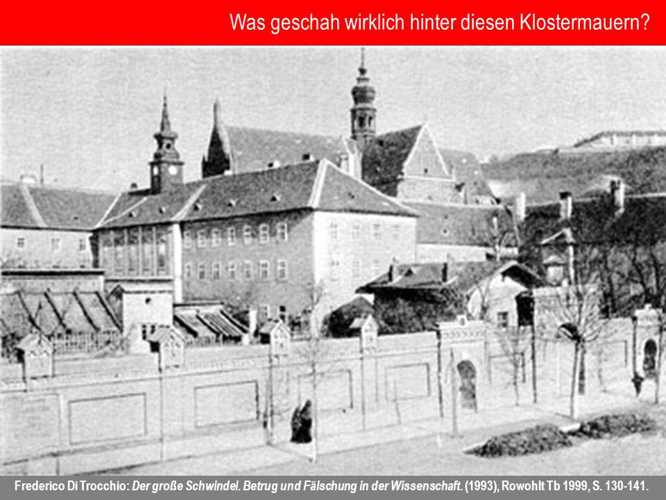 Was geschah wirklich hinter diesen Klostermauern